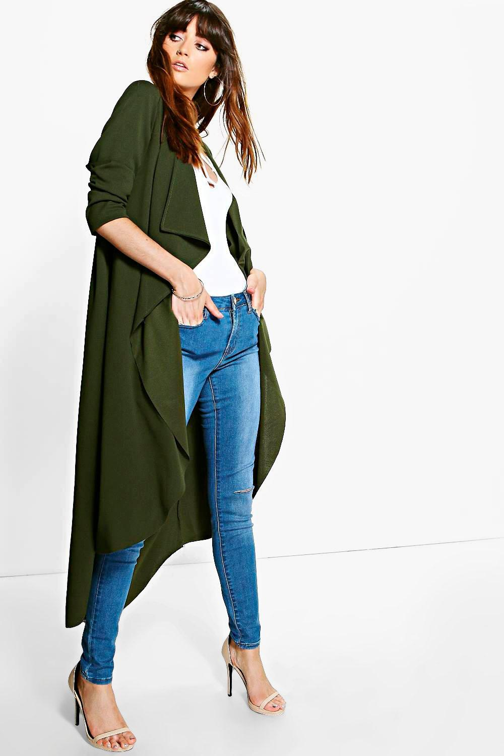 Georgia Waterfall Crepe Duster
