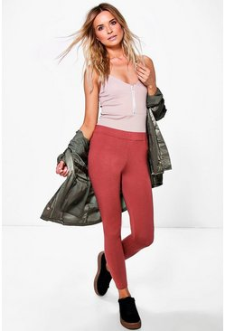 Larah Highwaist Basic Viscose Leggings