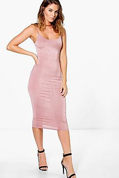 Amy Slinky Strappy Bodycon Dress