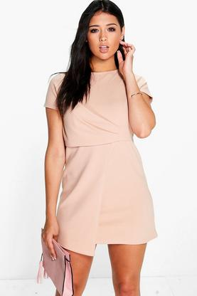 Katie Wrap Detail Shift Dress