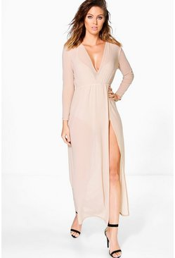 Molly Mesh Maxi Dress With Bodysuit