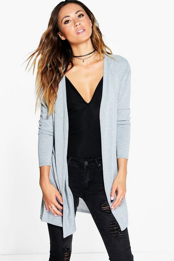 Eve Edge To Edge Midi Cardigan