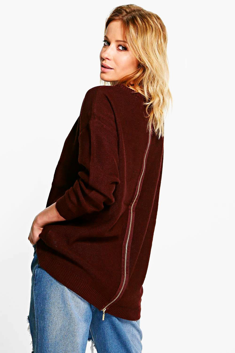 Nicole Zip Back Jumper