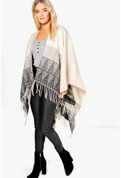 Sofie Chevron Cape