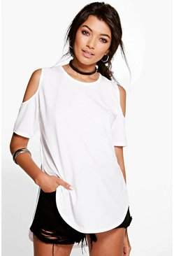 Gracie Cold Shoulder Top
