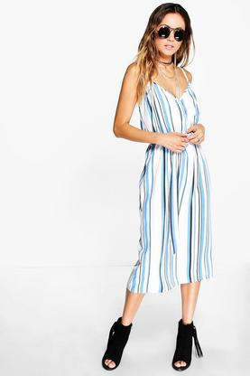 Lottie Striped Belted Sundress