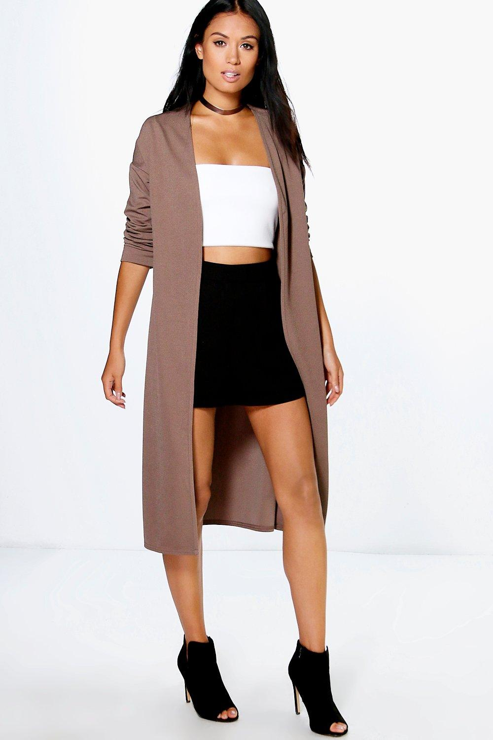 Charlotte Collarless Duster