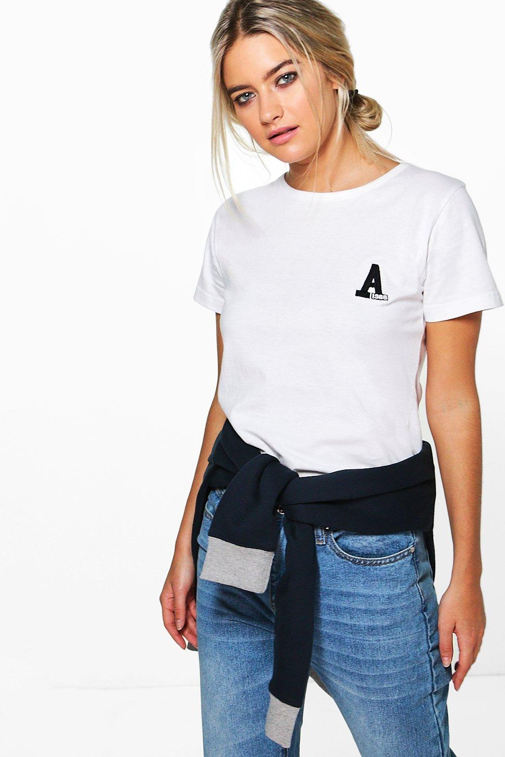 Sophie Embroidered Slogan Premium T Shirt