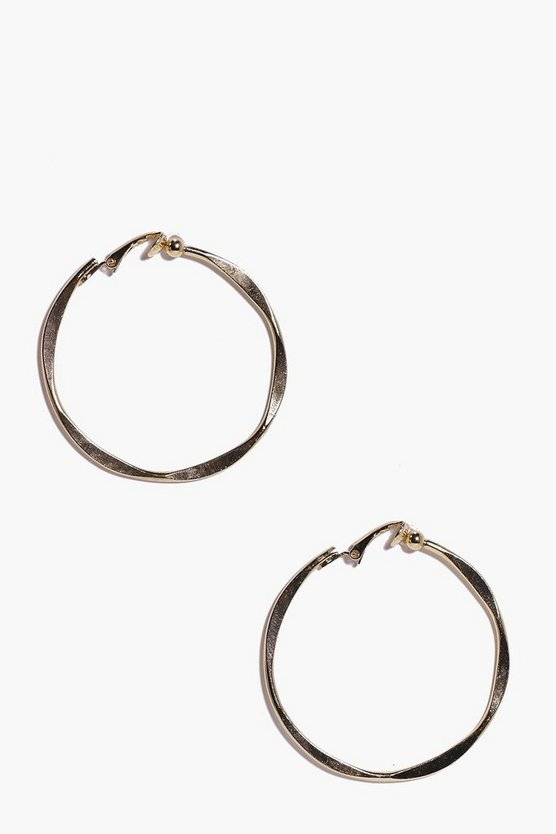 Gabriella Twisted Hoop Earrings