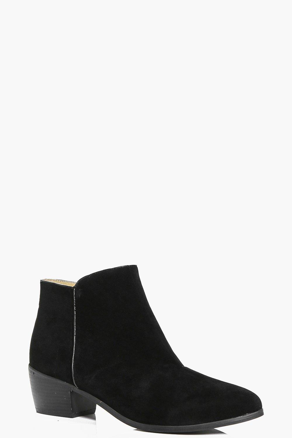 Laura Low Ankle Western Boot