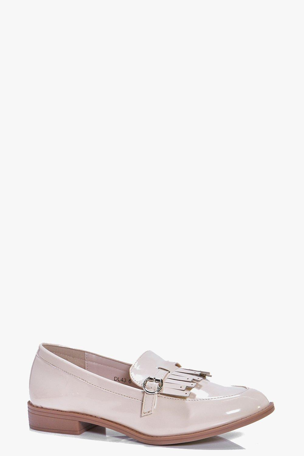 Rosie Buckle Fringe Front Loafer
