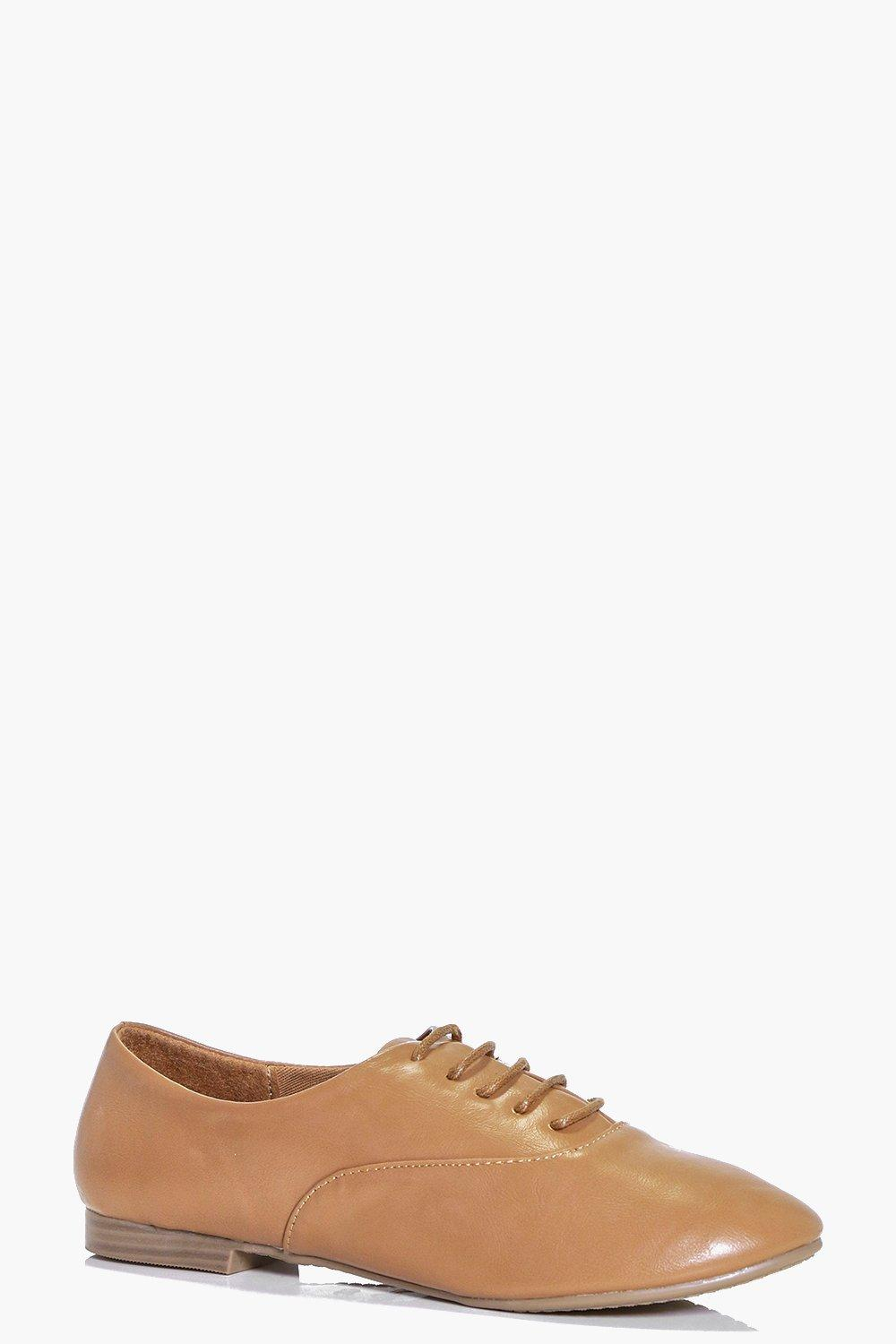 Lena Lace Up Brogue Flat
