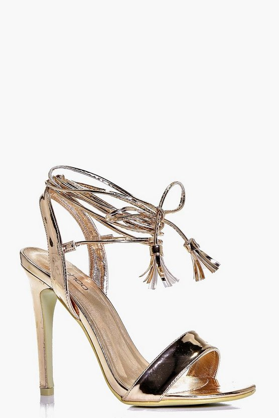 Eliza Wrap Strap Two Part Sandal