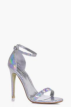 Tegan Two Part Mermaid Effect Stiletto