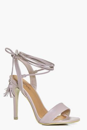 Lucia Wrap Strap Two Part Sandal