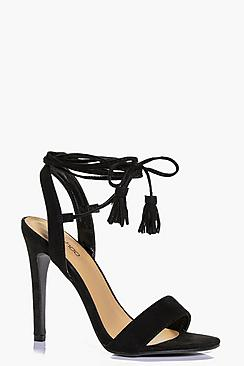 Sarah Wrap Strap Two Part Sandal
