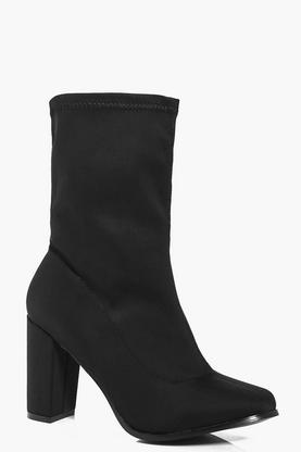 Claire Stretch Sock Boot