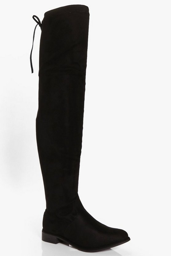 Taylor Flat Thigh High Boots