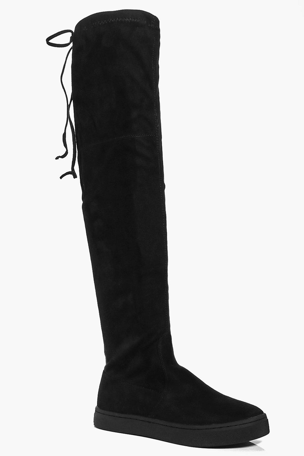Clara Skater Over The Knee Boot