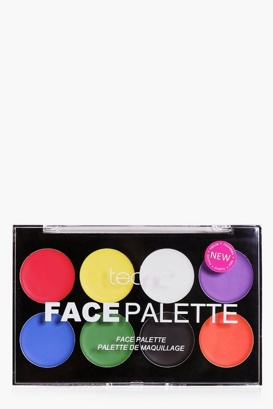 Halloween Face Paint Palette