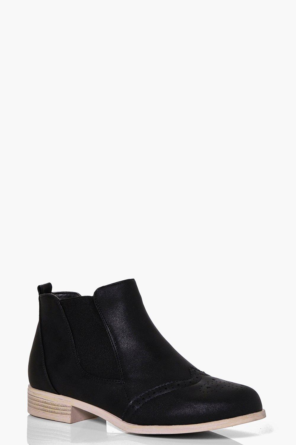 Sophie Pin Punch Chelsea Boot