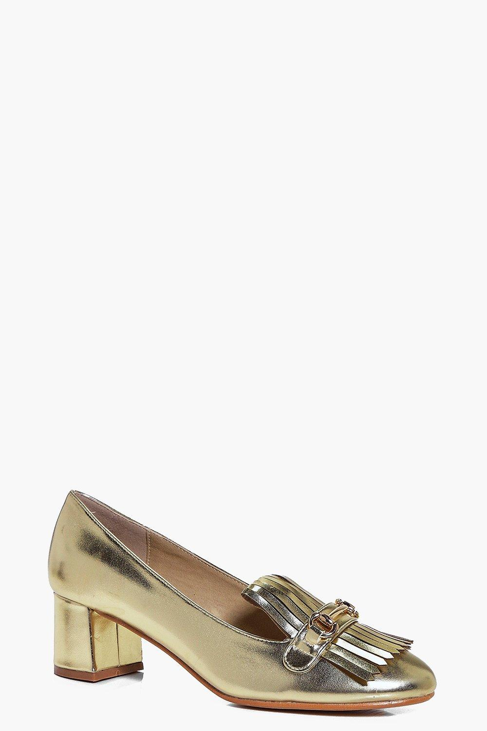 Alexis Block Heel Loafer