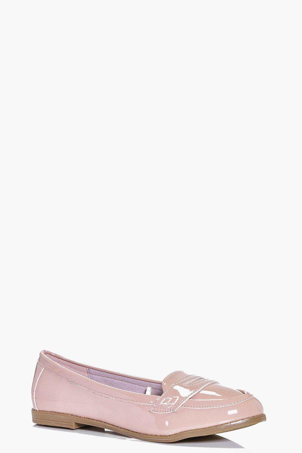 Millie Patent Loafer Flat