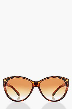 1950s Sunglasses & Eyeglasses Frames Eva Tortoise Shell Cat Eye Sunglasses $8.00 AT vintagedancer.com