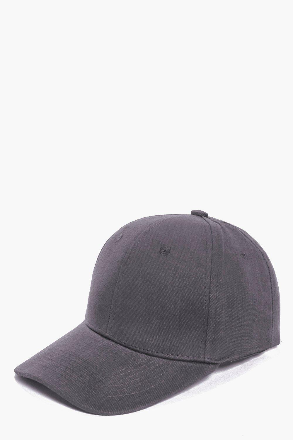 Basic Baseball Cap - grey - Stay snug in scarves a
