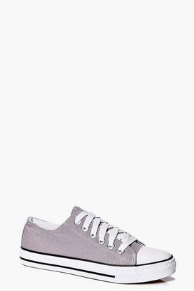 Imogen Lace Up Canvas