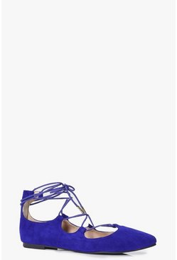 Sarah Ghillie Pointed Ballet Flat