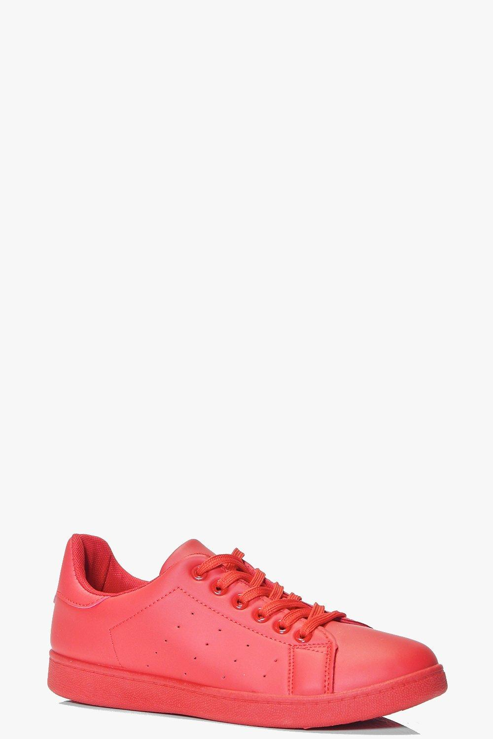 Angel Lace Up Colour Pop Trainer