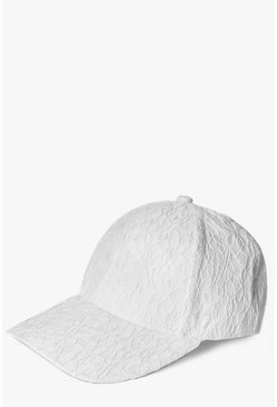 Evelyn Crochet Lace Baseball Cap