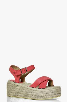 Millie Espadrille Two Part Platform