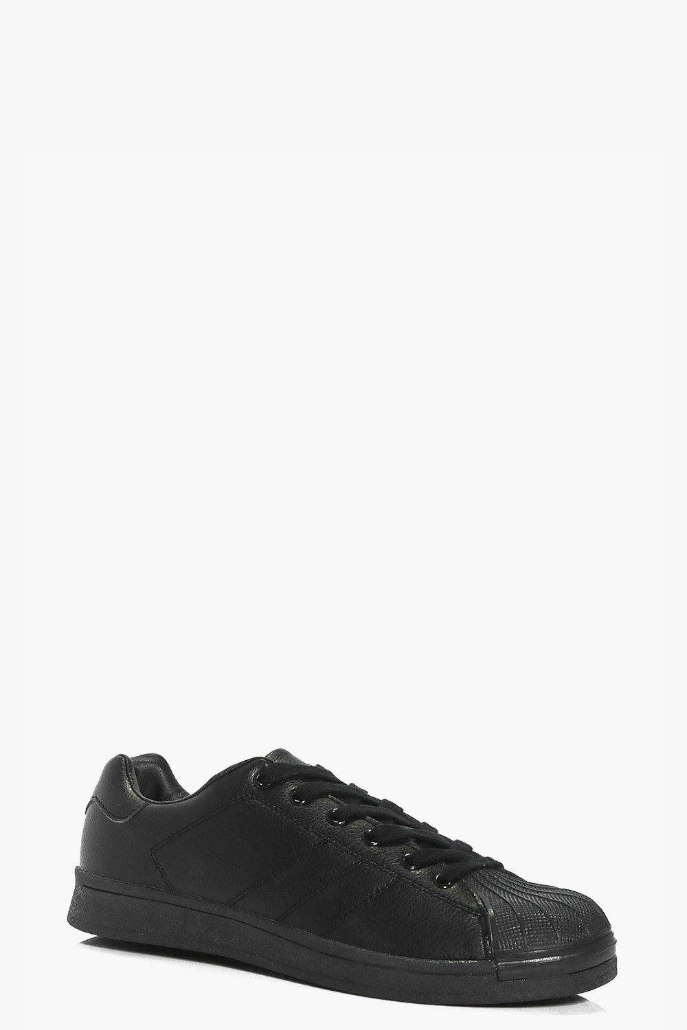 Lara Lace Up Contrast Trainer