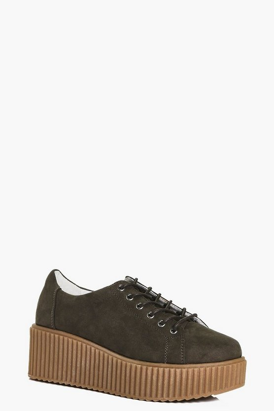 Robyn Lace Up Platform Trainer