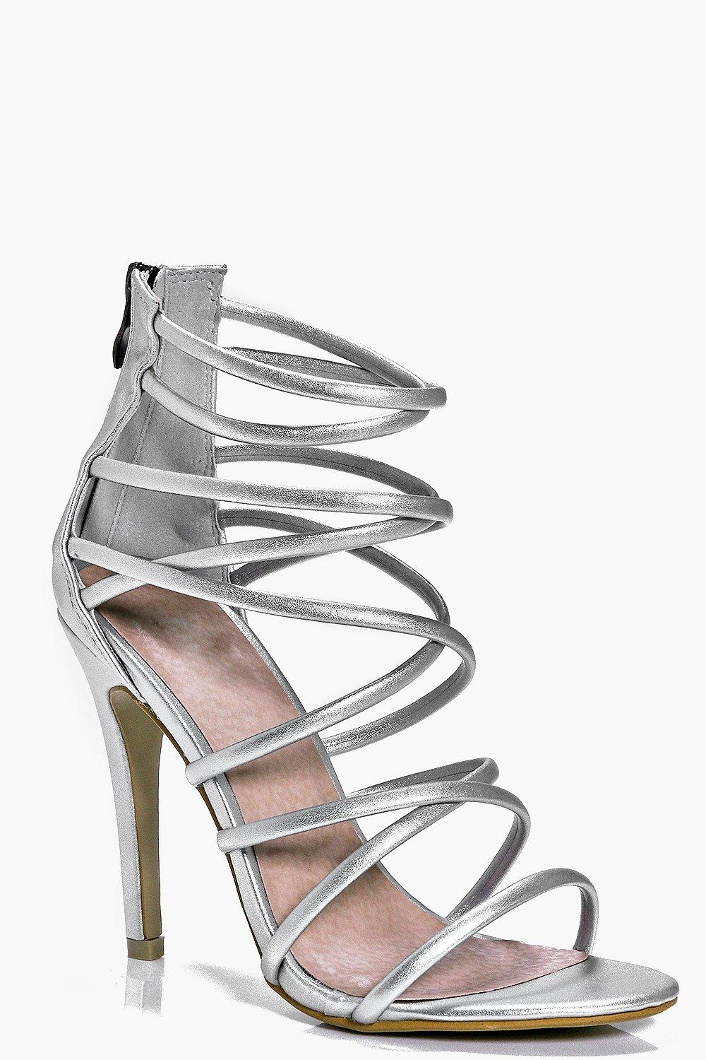 Lois Multi Strap Tie Stiletto