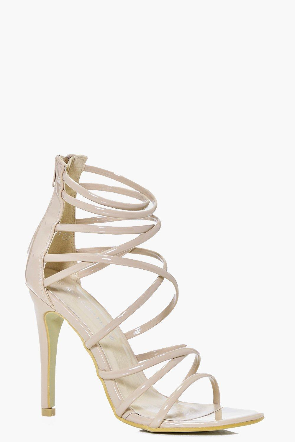 Florence Multi Strap Tie Stiletto
