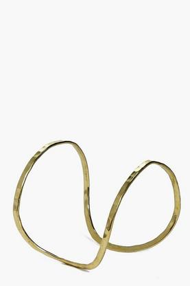 Natasha Gold Double Band Bangle