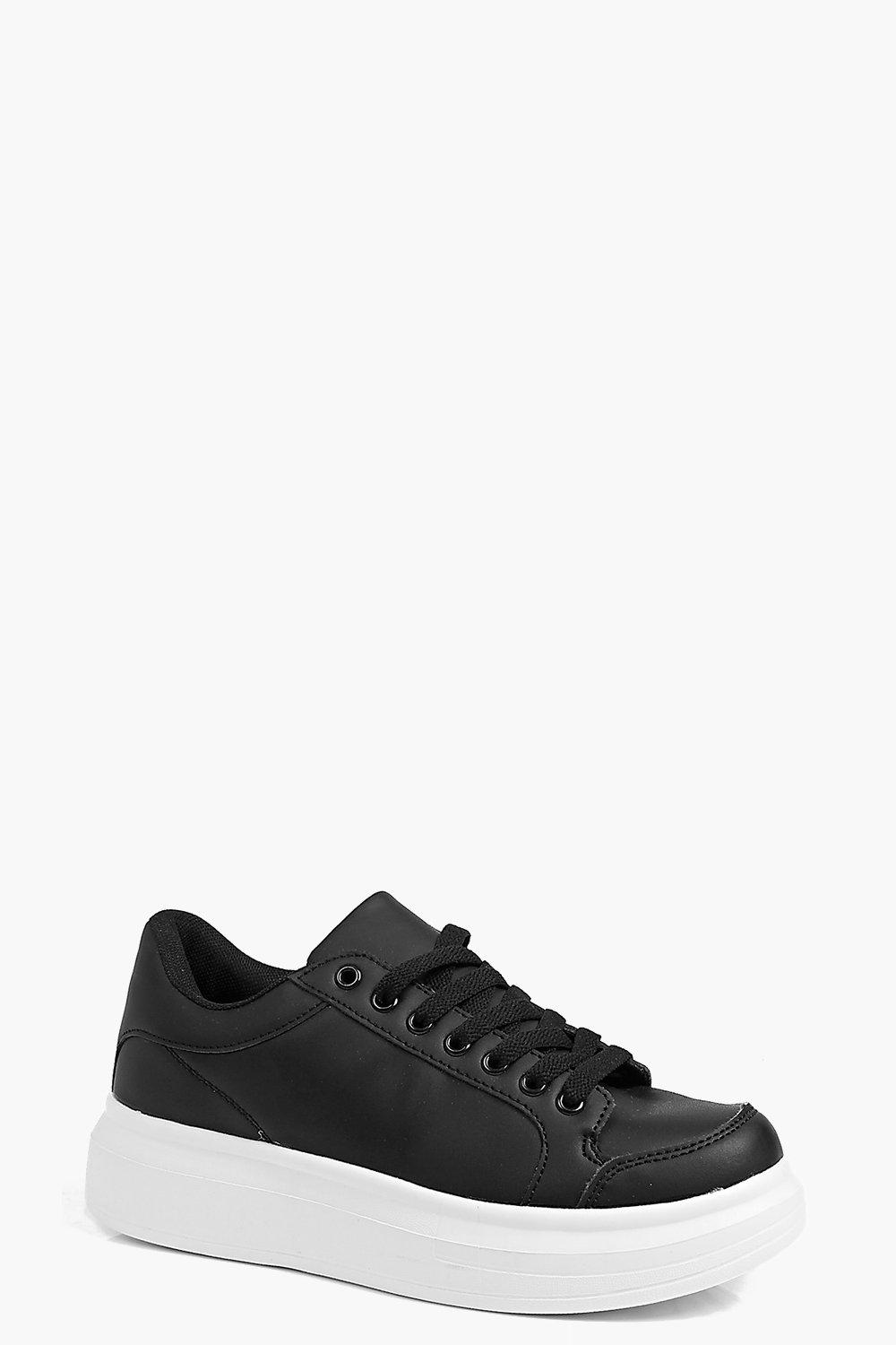Elena Lace Up Platform Trainer