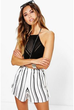 Suzie Striped Flippy Shorts