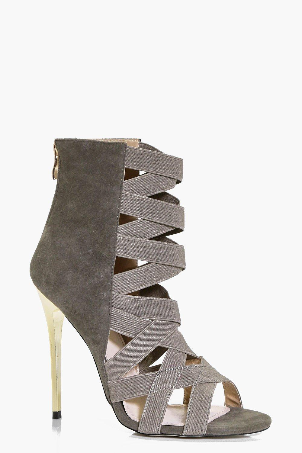 Lois Elastic Multi Strap Shoe Boot