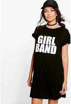 Layla Girl Band Printed Dress