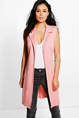 Niamh Belted Sleeveless Duster