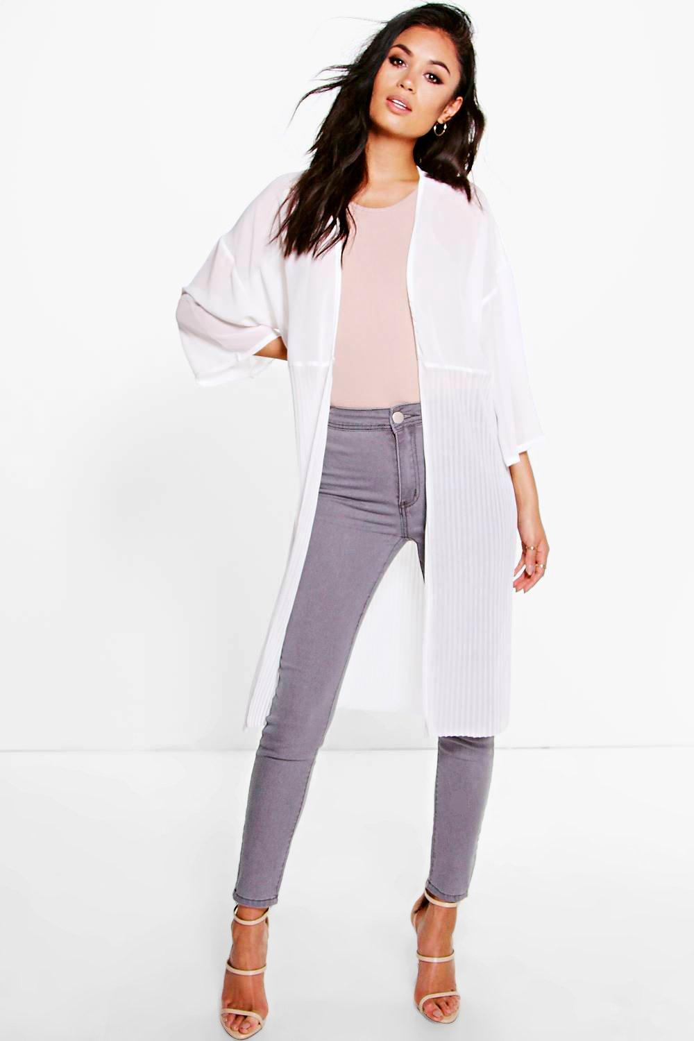 Megan Pleated Duster