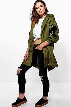 Maisie Unlined Oversized Parka