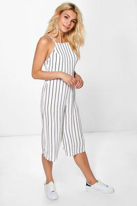 Emily High Neck Open Back Jumpsuit