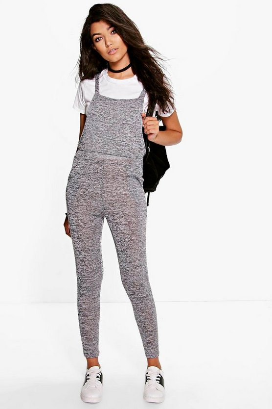 Sophie Knitted Dungaree Jumpsuit