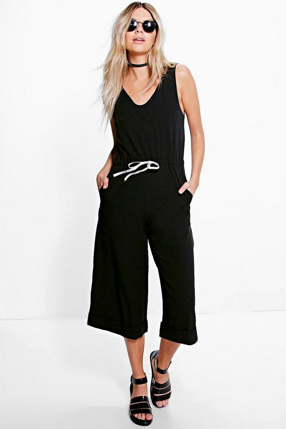 Isla Relaxed Fit Culotte Jumpsuit