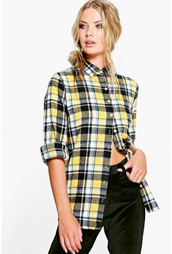 Lucy Heavy Brushed Checked Shirt